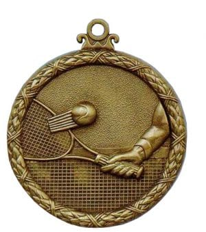 Antique tennis medal