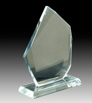 Clear Glass & Crystal Awards