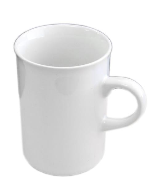 Ceramic 10oz Coffee Mug Price Includes Artwork Or Text Heat Pressed Onto The